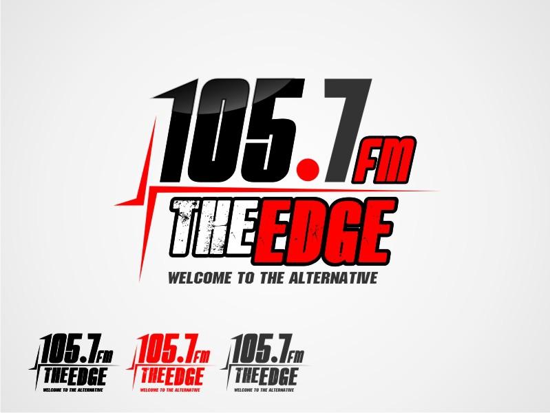 logo for 105.7 The Edge