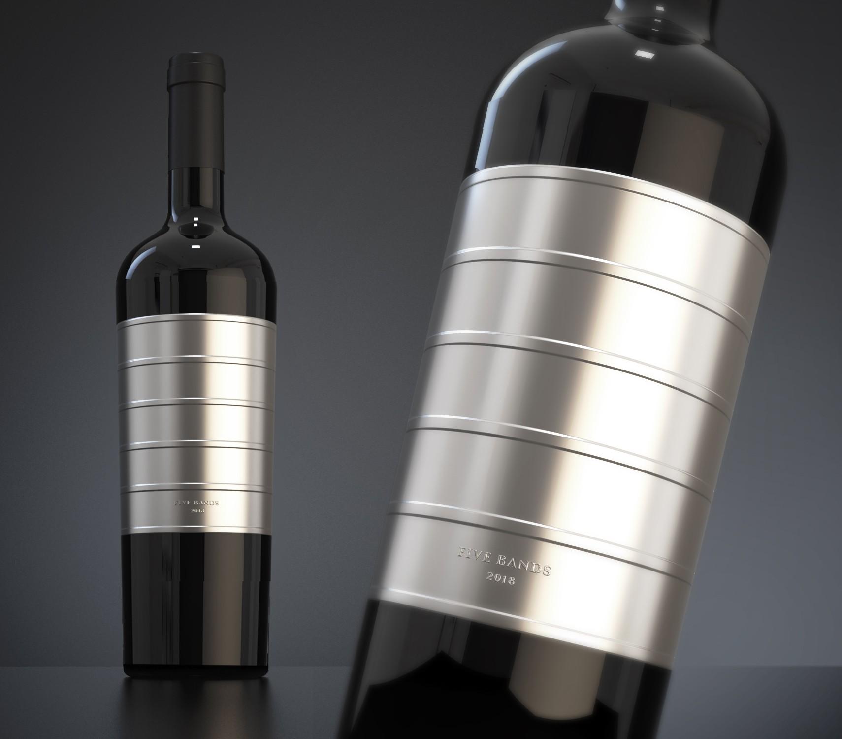 Ultra Premium Wine Label Design