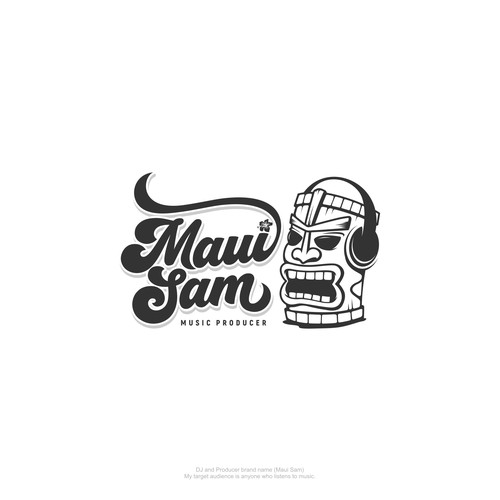 DJ | Producer logo wanted for *Maui Sam