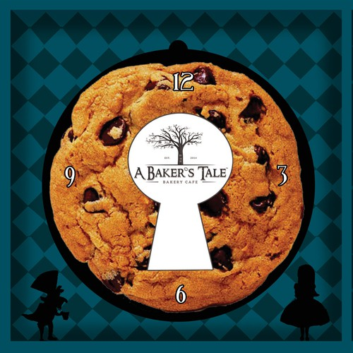 Storybook Bakery with an Alice in Wonderland Twist - Cookie Packaging