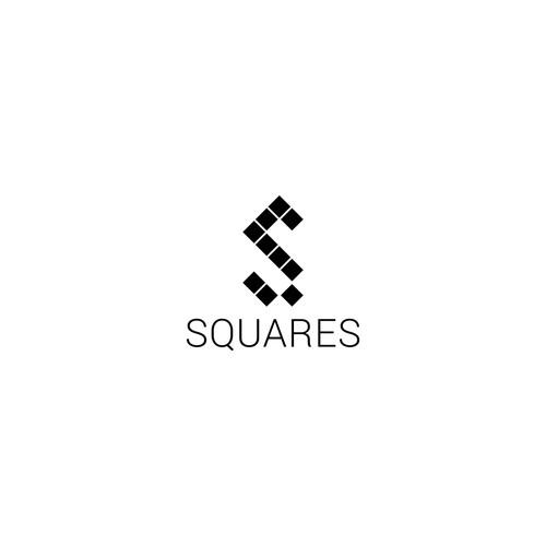 Squares logo design