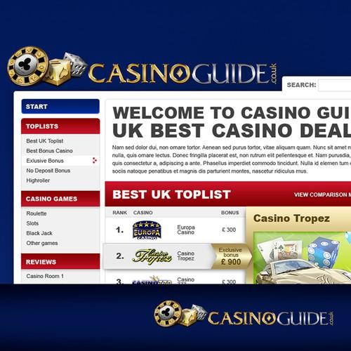 Online Casino Comparison Guide needs a logo