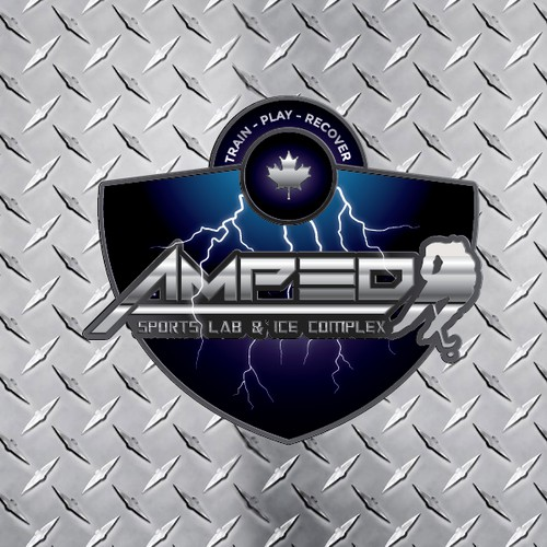 Amp us up with a great logo for the Amped Sports Lab and Ice Complex!