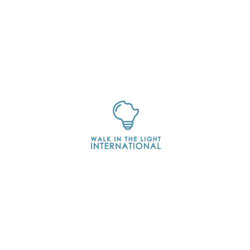 Logo concept for walk in the light international