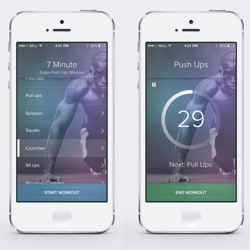 7 Minute Wrokout App