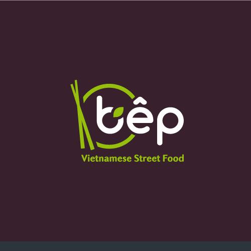 Modern and simple logo for Vietnamese restaurant