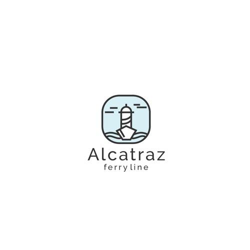ALCATRAZ ferry line