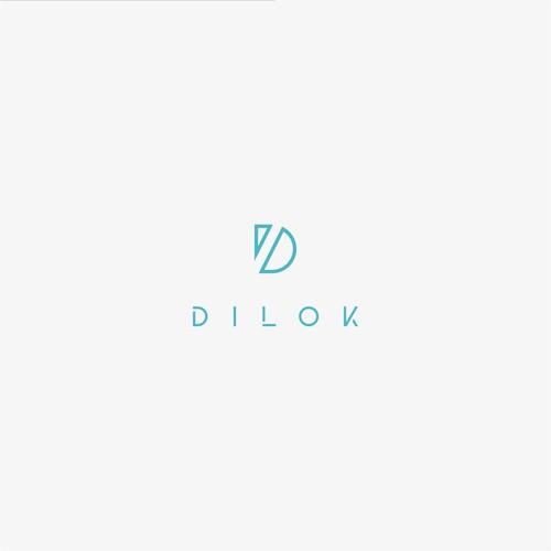 minimalist logo for DILOK