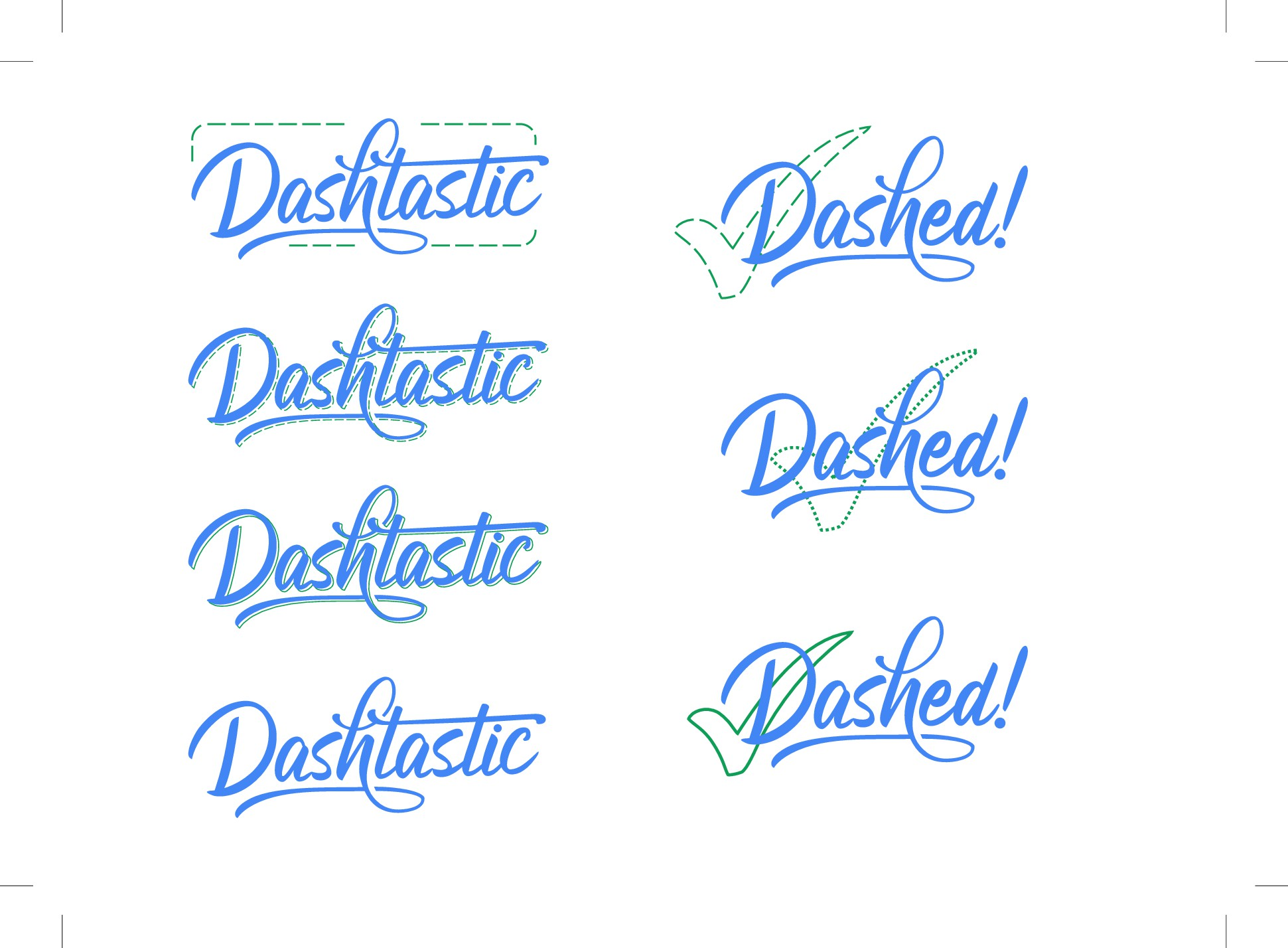 Dashtastic logo (wordmark)