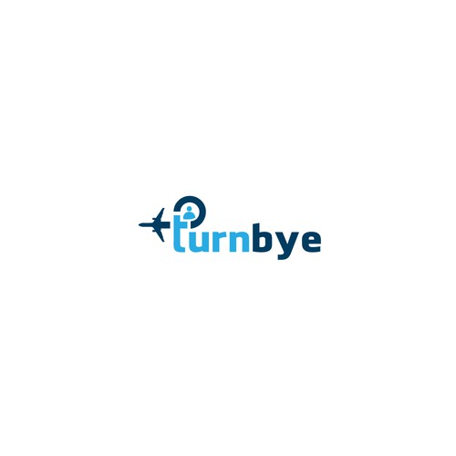 """Logo for """"Turnbye"""" company, business travel solutions"""