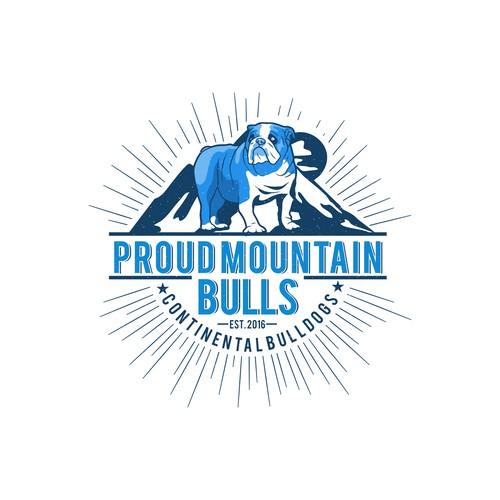 Logo for contest Proun Mountain Bulls