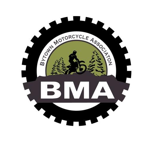 Logo für eine Motocross-Organisation in Kanada