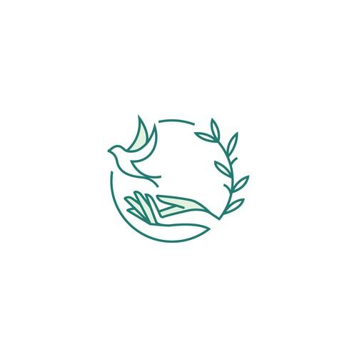 PRVD- Logo for a non profit organizaiton