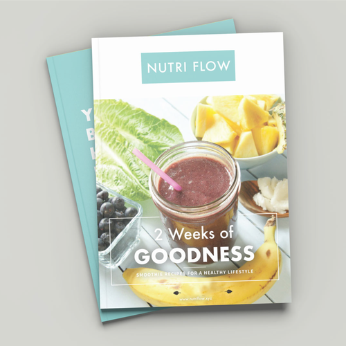 Magazine Cover and Layout for NUTRIFLOW