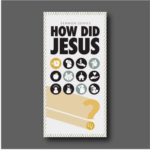 Poster for church sermon series.