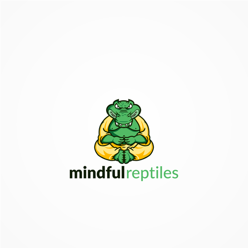 Logo concept for Mindful Reptiles