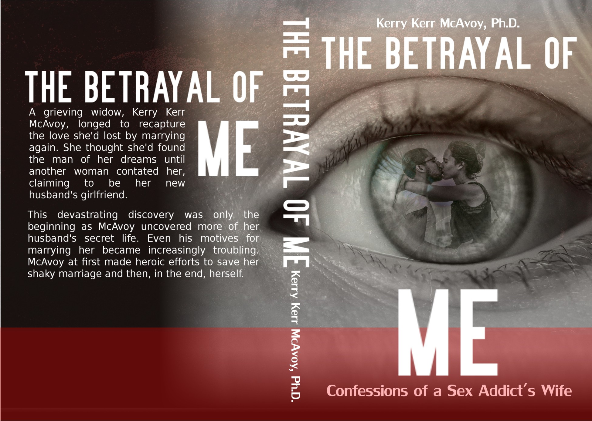 Design sexy book cover for upcoming tell-all memoir