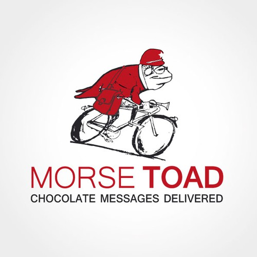 Create an Icon and Logo for a Chocolate Message Business