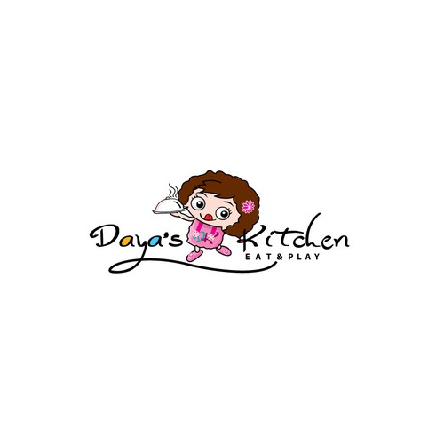 Playful and Modern logo for  Restaurant ''Daya's kitchen''