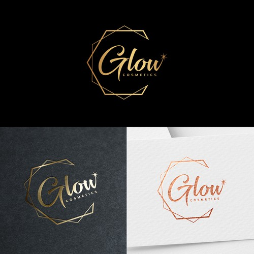 Logo for a cosmetic company