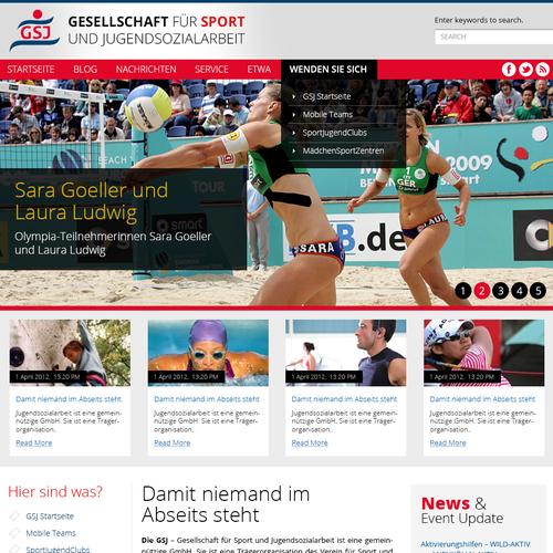 PSD Website Themplate