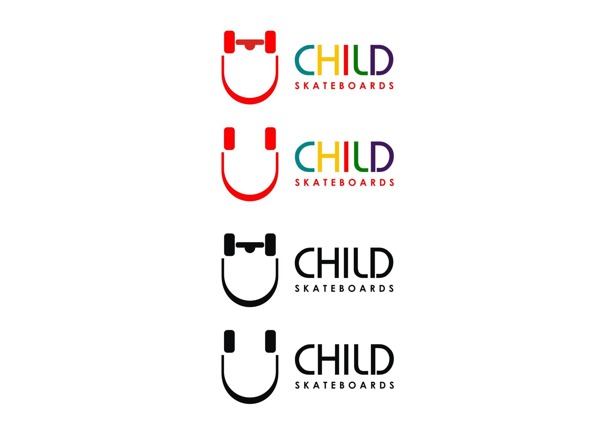 Mature and Modern Logo Design for a Skateboarding Shop!!/ スケートボードブランドのセレクトショップ「CHILD」のロゴ