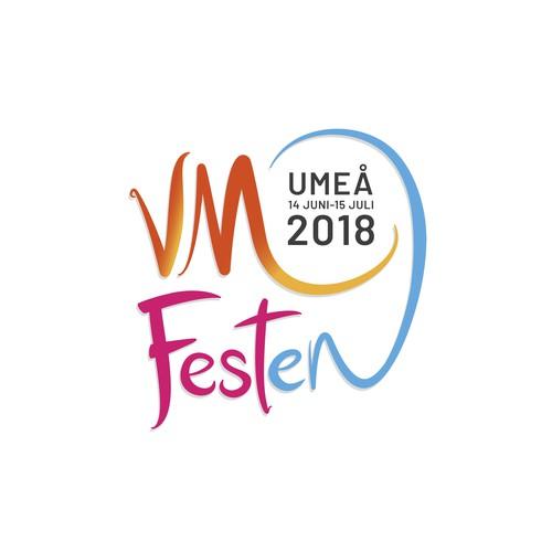Logo design for a FIFA World Cup Festival