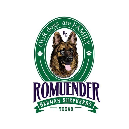 Romuender german shepherds