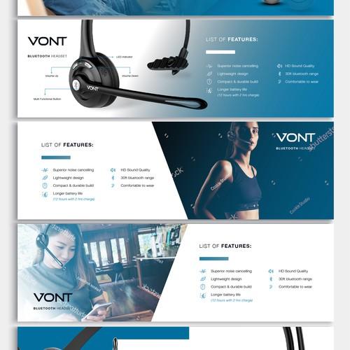 VONT Marketing Banners