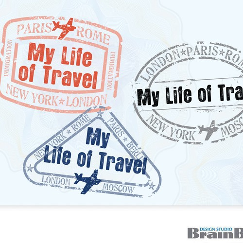My Life of Travel - Logo design $400