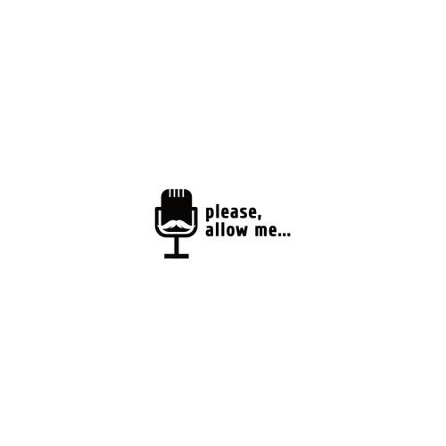a Logo for men podcast