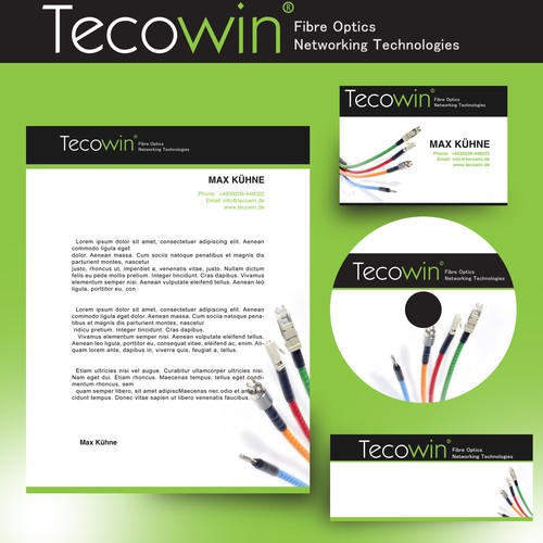 Help Tecowin Co., Ltd with a reworked CI design