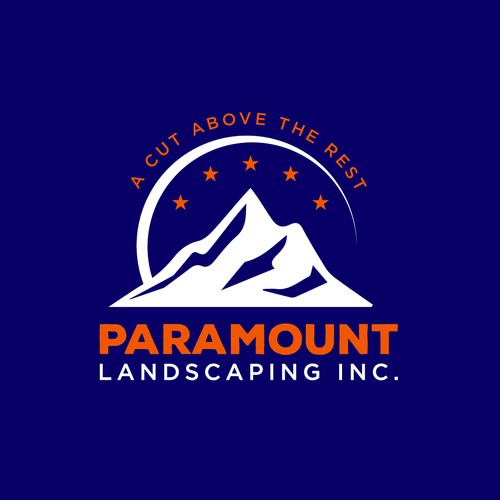 Modern and sophisticated logo for landscaping company