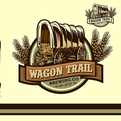 Wagon Trail BrewingCompany, a new micro-brewery,needs an awesome logo!! // Nueva cervecería necesita un logo!!
