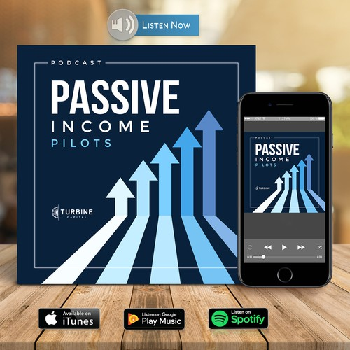 Podcast Cover Art for Airline Pilots - Passive Income Pilots