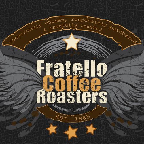 Killer Fratello Coffee T-shirt Design