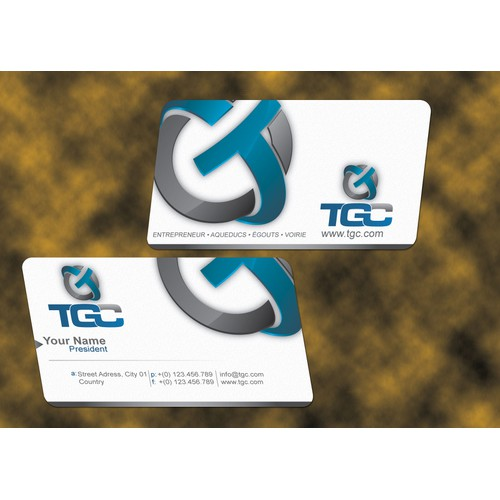 Please !!!! HELP TGC needs a new stationery and business card design