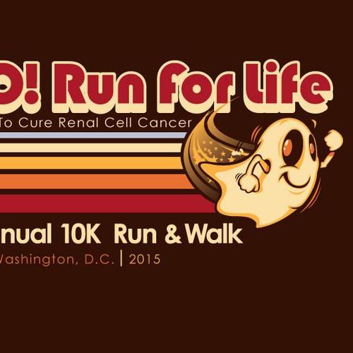 BOO! 10k Run and Walk Retro T-shirt