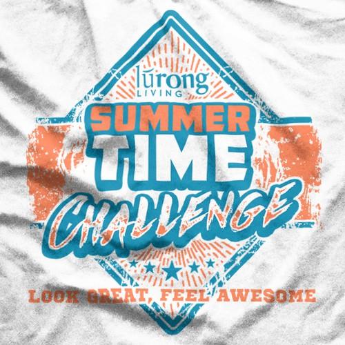 Summertime Challenge Sports T-shirt