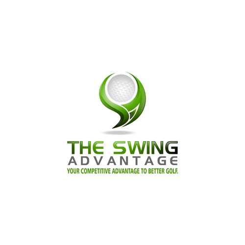 Create a captivating logo of our golf health and fitness program.