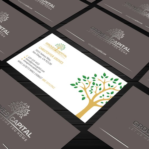 Groves Capital Business Card