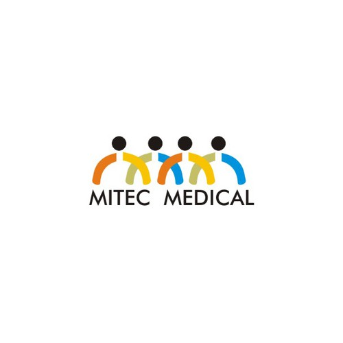Create a serious yet catching logo for MITEC MEDICAL