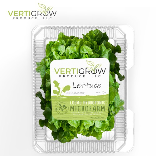 Vertigrow Label Design