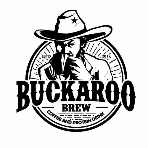Retro / Vintage style logo needed for Buckaroo Brew! (cowboy coffee)