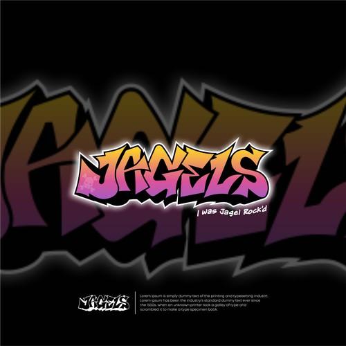 graffiti style art logo