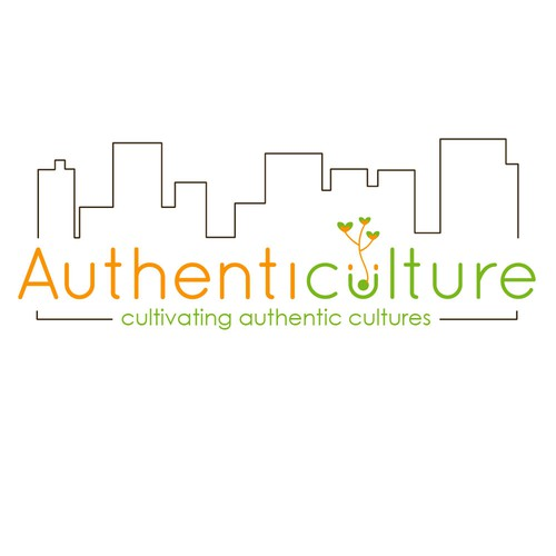Winning logo for Authenticulture logo Contest