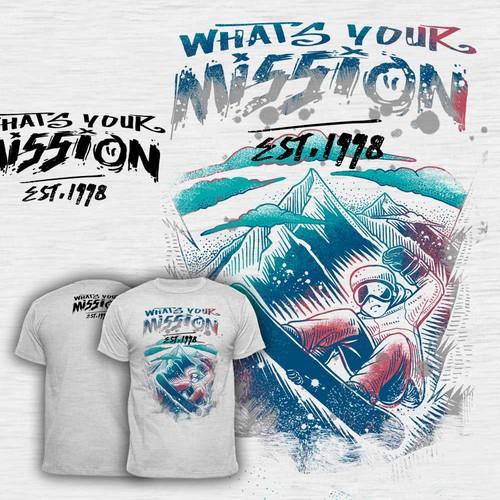mission t shirt