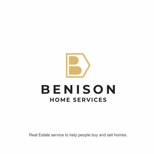 Logo concept for Benison Home Services