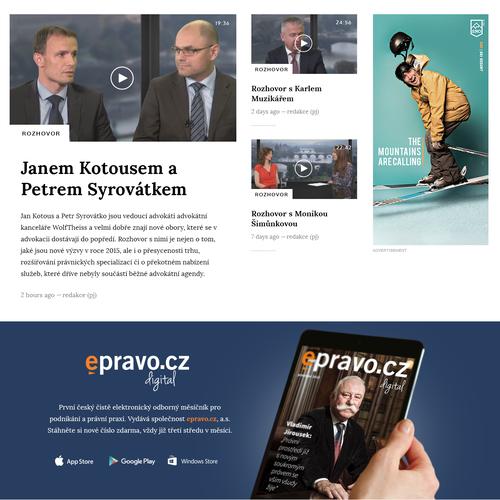 Czech finance portal