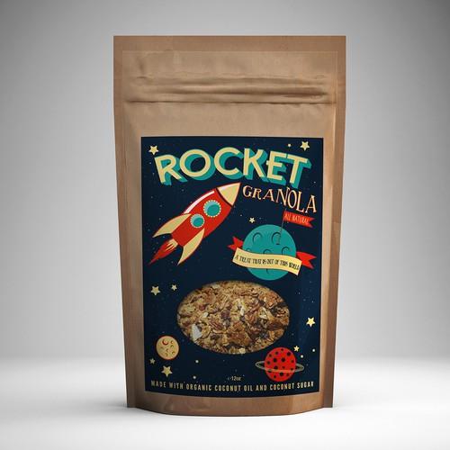 Rocket Granola Package Design Contest
